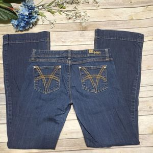 Kut From The Kloth Maggy Flare Denim Jeans Size 8